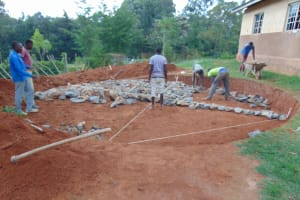 The Water Project: Gimengwa Primary School -  Hardcore Filling
