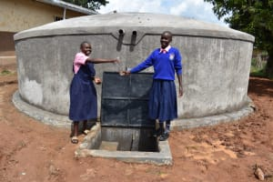 The Water Project: Gimengwa Primary School -  Celebrating At The Water Point