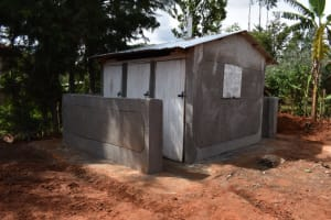 The Water Project: Gimengwa Primary School -  Complete Latrines