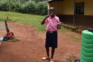 The Water Project: Gimengwa Primary School -  Dental Hygiene Demonstration