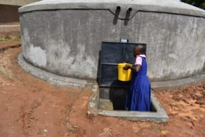 The Water Project: Gimengwa Primary School -  Pupils Carrying Water