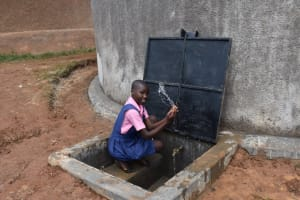 The Water Project: Gimengwa Primary School -  Pupils Celebrating Clean Water