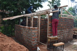 The Water Project: Gimengwa Primary School -  Roofing The Latrines
