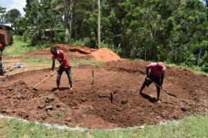 The Water Project: St. Joakim Buyangu Primary School -  Excavation