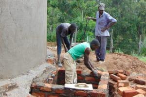 The Water Project: St. Joakim Buyangu Primary School -  Brickworks At Manhole