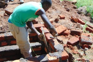 The Water Project: St. Joakim Buyangu Primary School -  Drawing Point Construction
