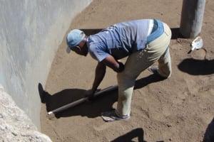 The Water Project: St. Joakim Buyangu Primary School -  Tank Floor Works