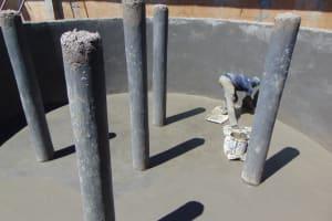The Water Project: St. Joakim Buyangu Primary School -  Plastering The Floor