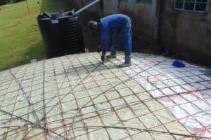 The Water Project: St. Joakim Buyangu Primary School -  Dome Brc Reignforcement