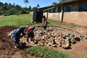 The Water Project: St. Joakim Buyangu Primary School -  Hardcore Filling
