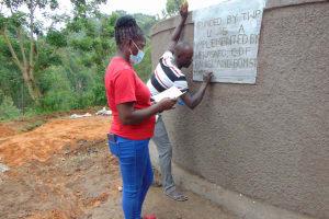 The Water Project: St. Joakim Buyangu Primary School -  Plaque Writing