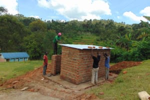 The Water Project: St. Joakim Buyangu Primary School -  Roofing