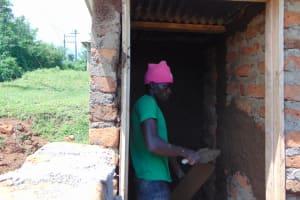 The Water Project: St. Joakim Buyangu Primary School -  Plastering Vip Latrines