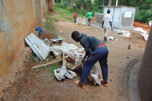 The Water Project: St. Joakim Buyangu Primary School -  Clearance Of Site