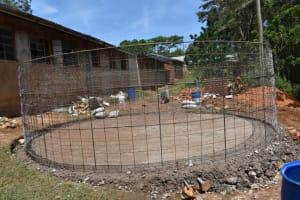 The Water Project: St. Joakim Buyangu Primary School -  Construction Works Progress
