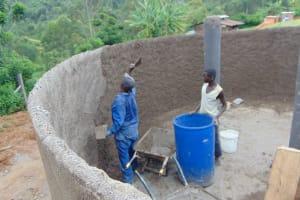 The Water Project: St. Joakim Buyangu Primary School -  Plaster
