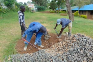 The Water Project: St. Joakim Buyangu Primary School -  Ballast