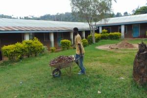 The Water Project: St. Joakim Buyangu Primary School -  Carrying Ballast