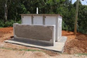 The Water Project: St. Joakim Buyangu Primary School -  Complete Latrine Block