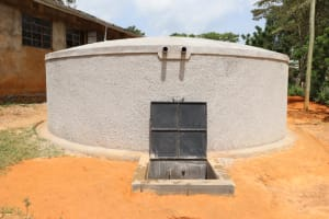 The Water Project: St. Joakim Buyangu Primary School -  Complete Tank