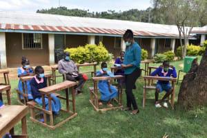 The Water Project: St. Joakim Buyangu Primary School -  Facilitator Christine