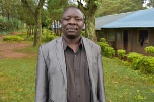 The Water Project: St. Joakim Buyangu Primary School -  Headteacher Dickson Okoth