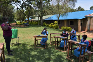 The Water Project: St. Joakim Buyangu Primary School -  How To Wear A Mask