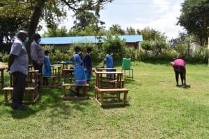 The Water Project: St. Joakim Buyangu Primary School -  Solar Disinfection Demonstration