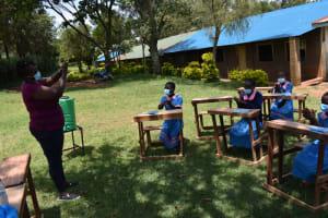 The Water Project: St. Joakim Buyangu Primary School -  Trainer Patience Njeri
