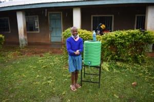 The Water Project: St. Joakim Buyangu Primary School -  Washing Hands