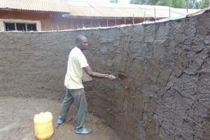 The Water Project: Kapkeruge Primary School -  Interior Plastering