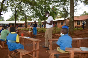 The Water Project: Kapkeruge Primary School -  Dental Hygiene Training