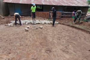The Water Project: Mwembe Primary School -  Hardcore Packing