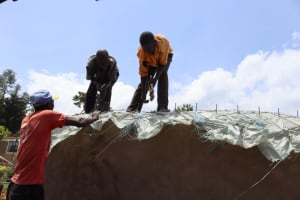 The Water Project: Mwembe Primary School -  Dome Setting