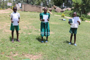 The Water Project: Mwembe Primary School -  Ctc At School
