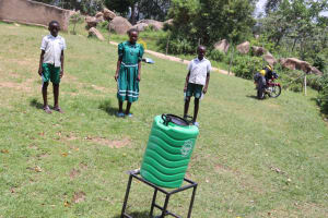 The Water Project: Mwembe Primary School -  Chosen Ctc Leadership