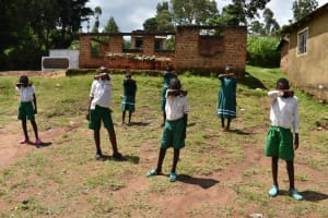 The Water Project: Mwembe Primary School -  Elbow Sneeze