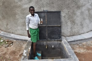 The Water Project: Mwembe Primary School -  Glass High