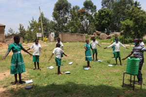 The Water Project: Mwembe Primary School -  Lets Distance Physically