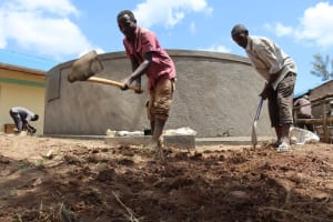 The Water Project: Mwembe Primary School -  Site Clearance
