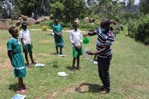The Water Project: Mwembe Primary School -  Solar Disinfection