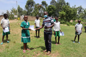 The Water Project: Mwembe Primary School -  Training Materials