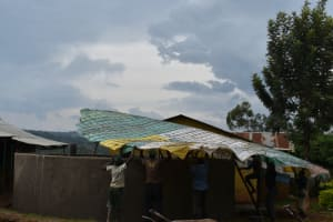 The Water Project: Itieng'ere Primary School -  Dome Setting