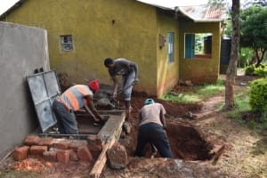 The Water Project: Itieng'ere Primary School -  Drawing Point Constructon