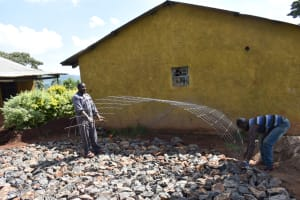 The Water Project: Itieng'ere Primary School -  Brc Reinforcement