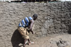 The Water Project: Itieng'ere Primary School -  Inside Plastering