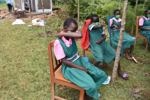 The Water Project: Itieng'ere Primary School -  Coughing In Elbows