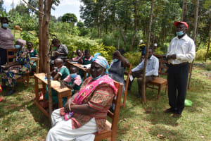 The Water Project: Itieng'ere Primary School -  Giving Thanks