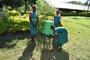 The Water Project: Itieng'ere Primary School -  Handwashing Stations