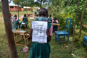 The Water Project: Itieng'ere Primary School -  Leaflet Illustrating Collaboration